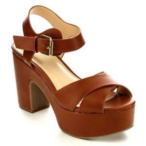Wild Diva Edrea Platform Shoes